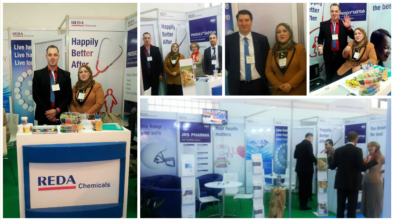 Maghreb Pharma Expo 2016 in Algeria – REDA Group